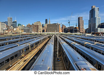 West Side Yard - The West Side Train Yard for Pennsylvania...