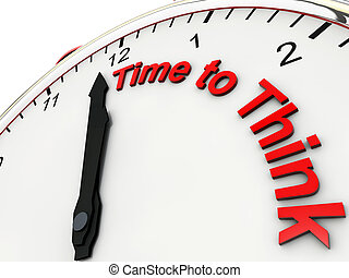 Time to think on a alarm clock its 1 minute to twelve