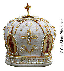headgear of the orthodox bishop - solemn headgear of the...