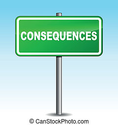 Vector consequences signpost