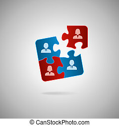 Team concept - Business team, human resources cooperation,...