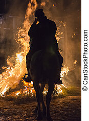 """Feast of """"Las Luminarias"""" - Photo taken on the feast of """"The..."""