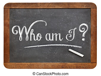 Who am I philosophical question - Who am I A philosophical...