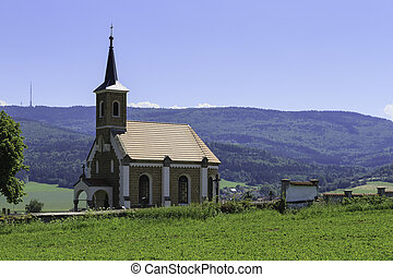 Small Country Church in the Czech Republic