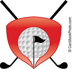 Golf  Icon - icon or logo for all about golf
