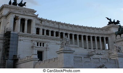 Vittoriano Monument Tilt at Dusk - Monumento Nazionale a...