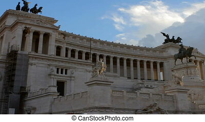 Vittoriano Monument with Tilt