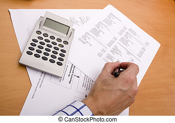 Financial reports - analyzing the financial reports at the...