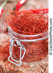 Dried Chilli Strings - Small portion of dried Chilli Strings...