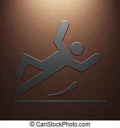 falling person