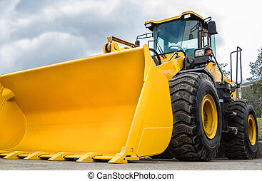Construction Equipment - wheel loader