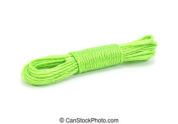 rope isolated on white background with clipping path