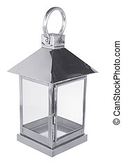 Lantern on White Background