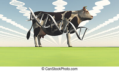 Geneticly modified cow