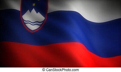 Flag of Slovenia seamless
