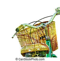 自転車, エコロジー, デザイン, 概念