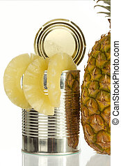 Pineapples can be kept perfectly as canned food