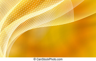 yellow abstract background with square pattern