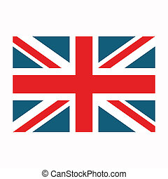 Vector United Kingdom Flag - Vector Illustration of the...