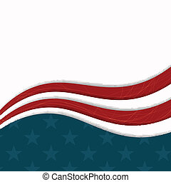 Vector Independence Day Design - Vector Illustration of an...