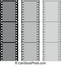 set of films pattern vector background - set of films...