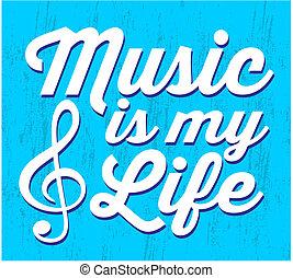 grunge music is my life - Grunge music is my life typography...