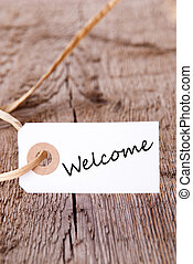 Natural Background with Welcome - Natural Background with...