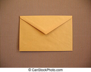 Yellow envelope in your office
