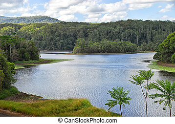 Rocky Creek Dam in New South Wales in Australia