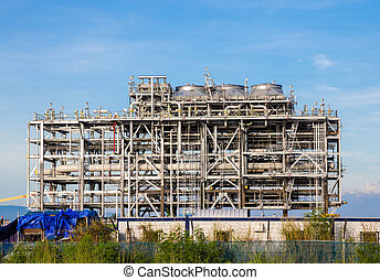 liquefied natural gas Refinery Factory - Liquefied natural...