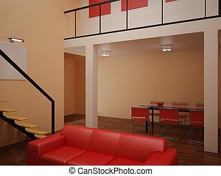 Interior set hundred forty nine - High resolution image...