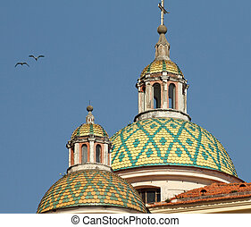 dome of the St Mary Magdalene Collegiate Collegiata di Santa...