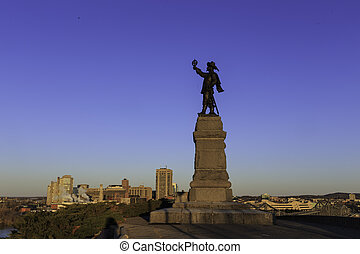 Statue of Jacques Cartier
