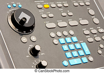 Control panel 2 - Electronic control panel with bunch of...