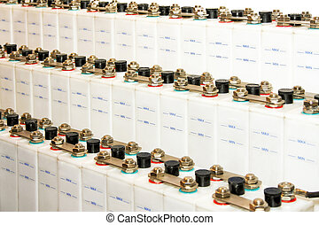Industrial batteries - Vanishing perspective of industrial...