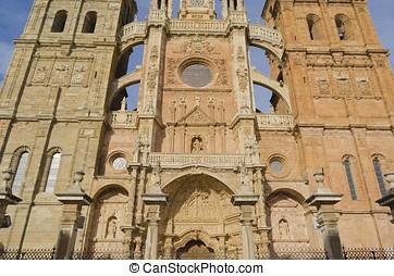 Astorga Cathedral - Detail of Astorga Cathedral