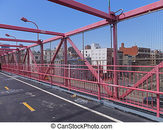 Williamsburg Bridge in New York, USA