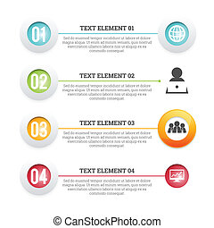 Icon Text Placement Copyspace - Vector illustration of icon...