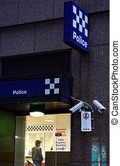 australiano, policía