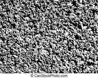 vector grained black and white texture - vector coarse...