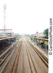 Railways in Malaysia.