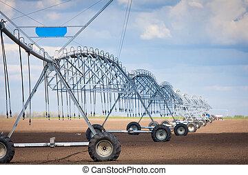 Center pivot irrigation system