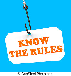 Know The Rules On Hook Shows Policy Protocol Or Law...