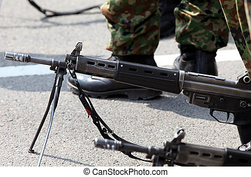 Japanese military rifle