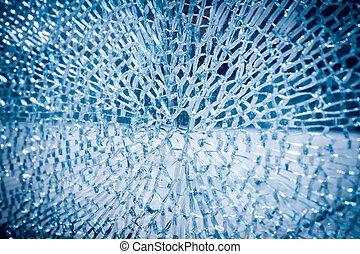 broken glass background - broken glass closeup ,background...