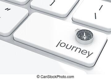 concepto, viaje