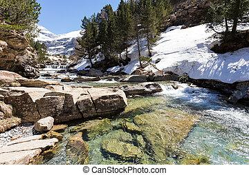 Ordesa, nacional, cascada, parque