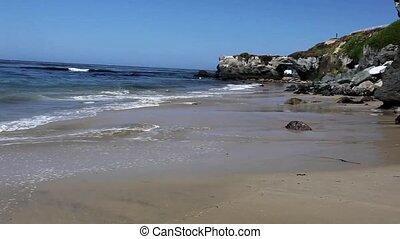 Rocky coast - Rocky Pacific ocean coast