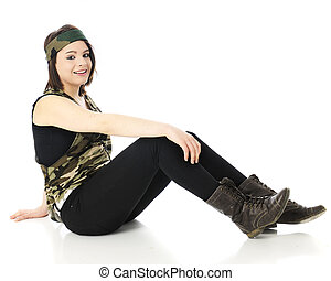 Relaxed in Camo