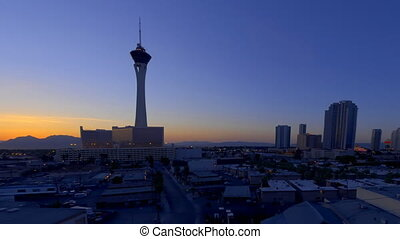 West City Sunrise Cropped - High definition sunrise shot in...